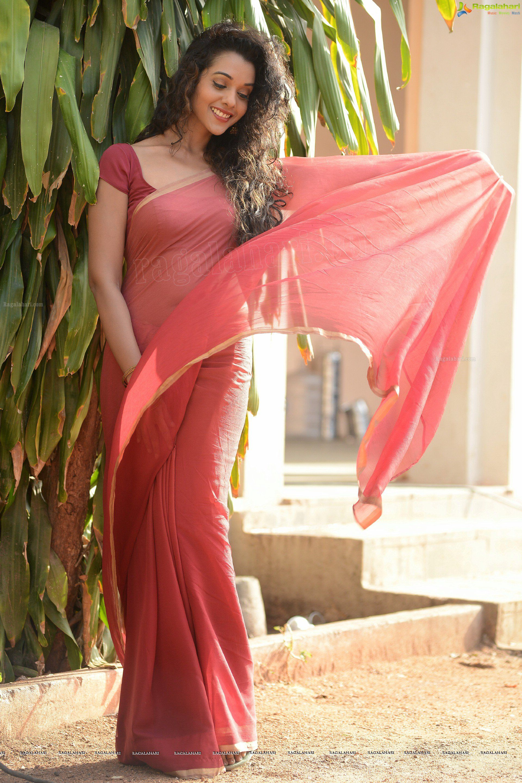 Pin on saree back