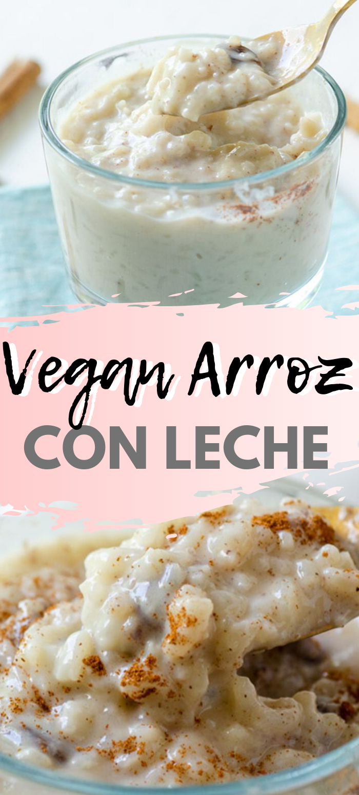 Photo of Vegan Arroz con Leche