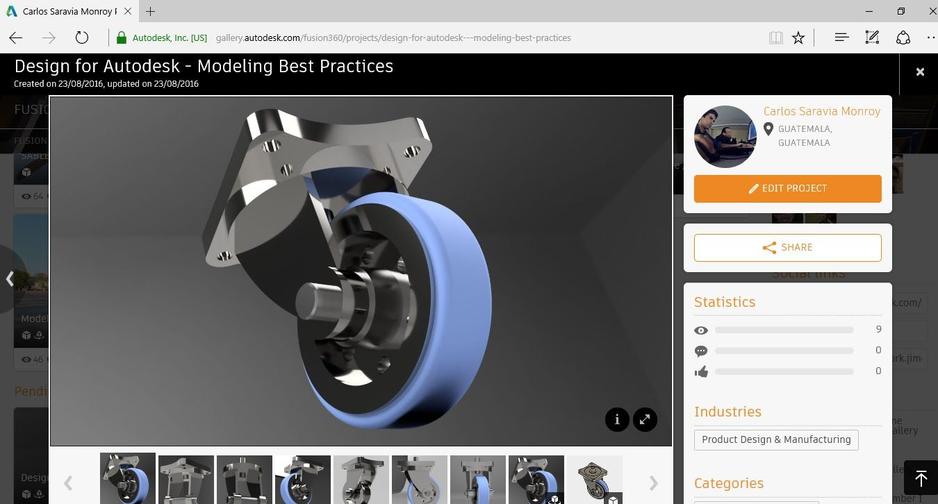 Fusion 360 Design for Autodesk - Modeling Best Practices | Fusion