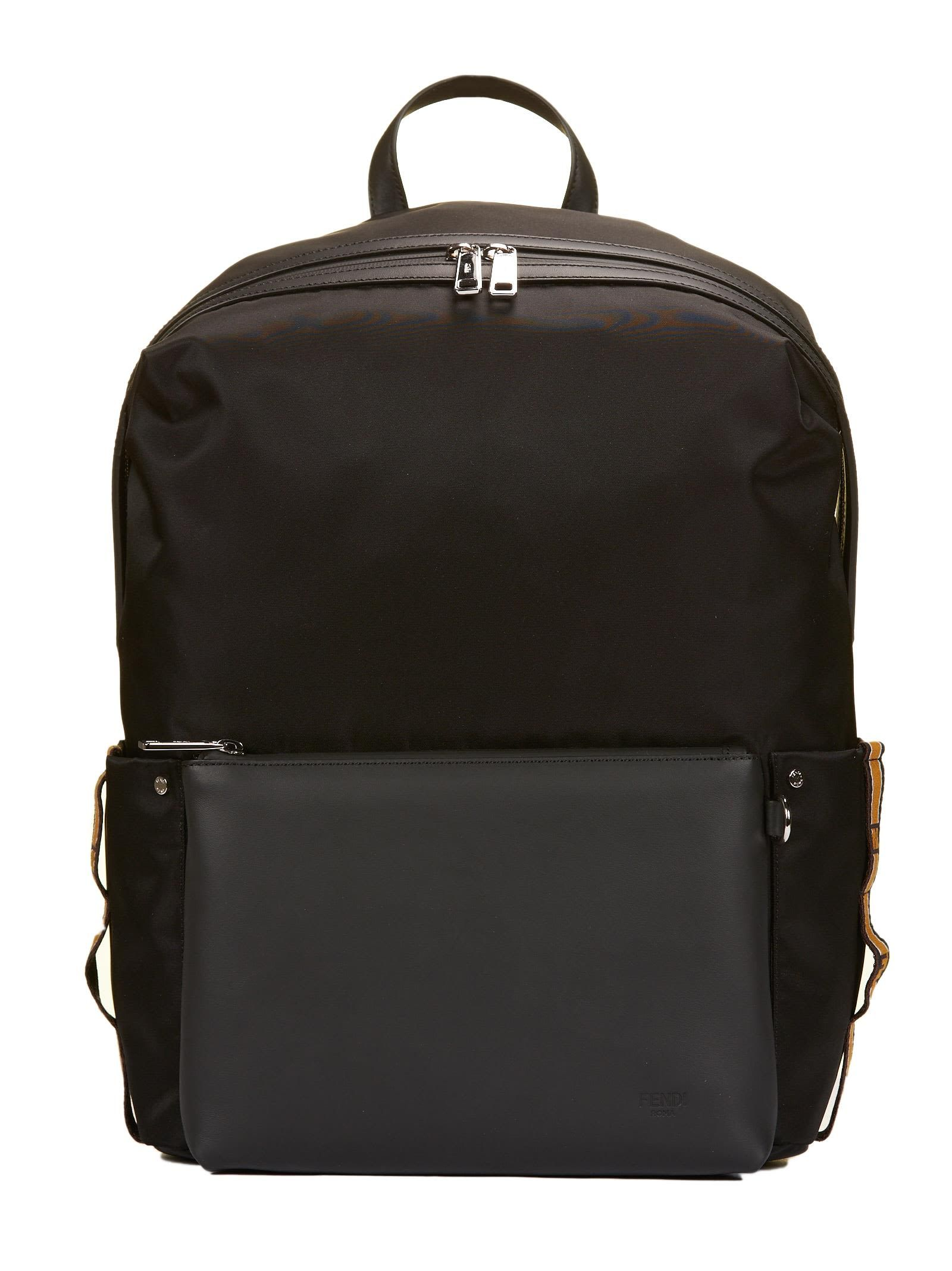 0cea32969c48 FENDI LOGO PRINTED BAG BUGS BACKPACK.  fendi  bags