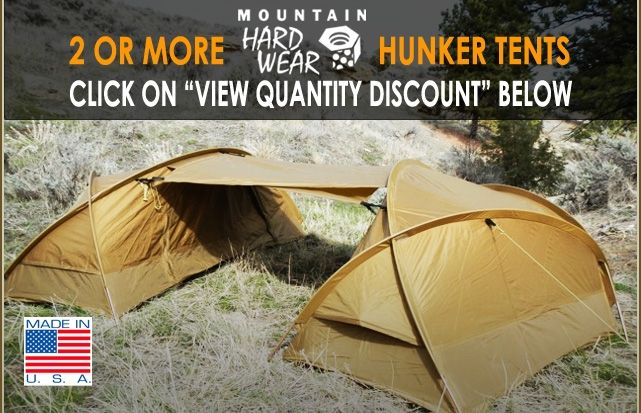 Mountain Hardwear Hunker 4 Season Tent & Mountain Hardwear Hunker 4 Season Tent | Outdoors | Pinterest ...