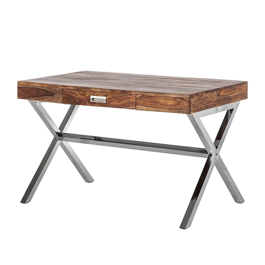Schreibtischle Design schreibtisch manhattan asiat sheesham massivholz kare design