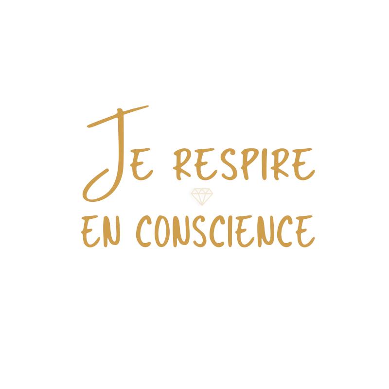 Je Respire En Conscience Pensee Positive Citation Citations Optimisme Attitude Positive