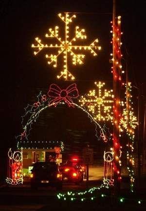 see fun public light displays in and near springfield missouri