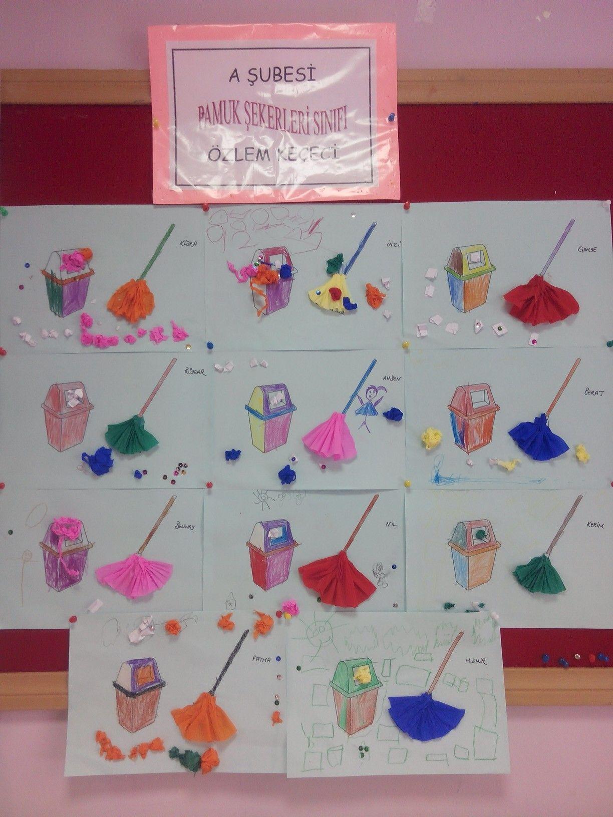 Kirli Temiz Faaliyetler Okul Cocuklar Icin Sanat
