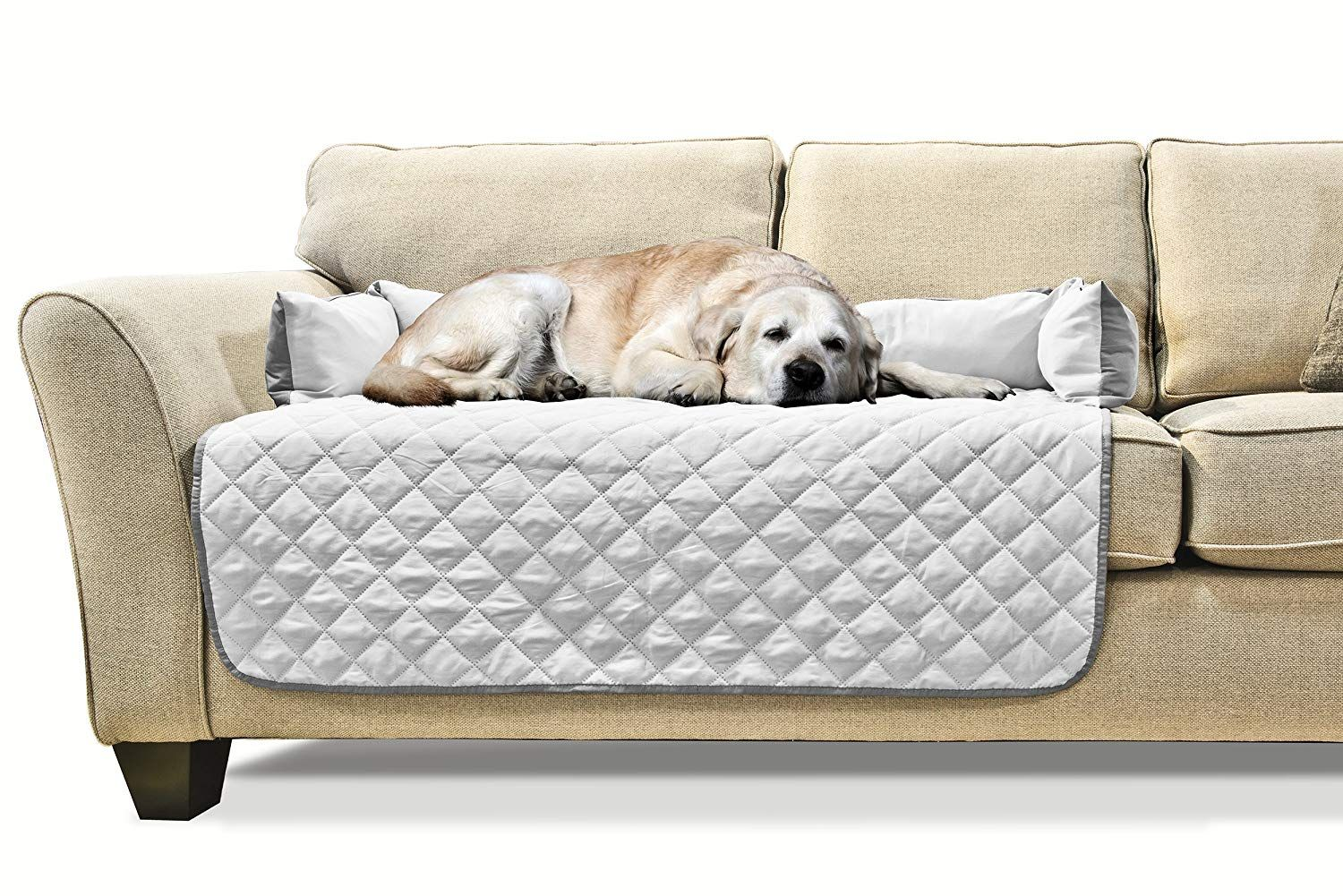 Groovy Furhaven Sofa Buddy Reversible Pet Bed Furniture Cover Machost Co Dining Chair Design Ideas Machostcouk