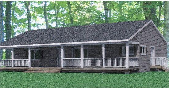 Adding A Porch To A Ranch Style Home Home Modular
