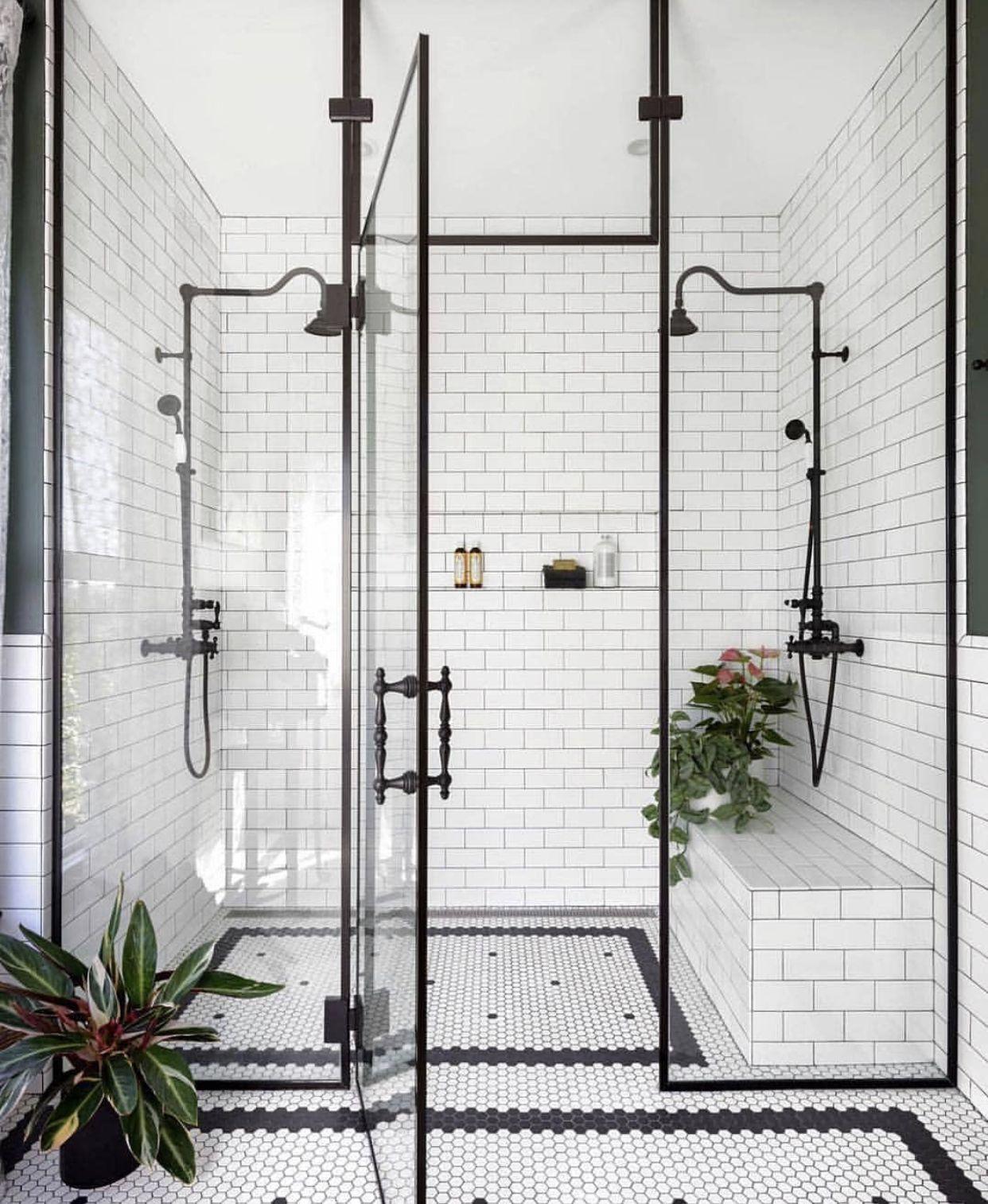 Photo of Mooie zwart wit tuin douche