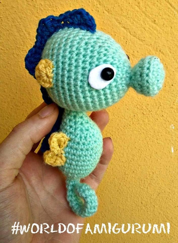 Cavalo Marinho – Amigurumi Brasil – AmiBR | Free Crochet Patterns ...