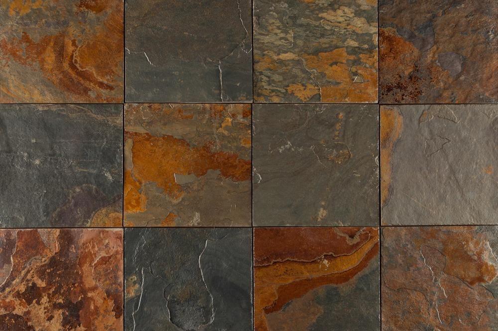 Builddirect Slate Tiles California Gold Multi View