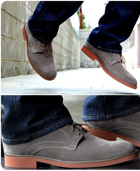 a635b2054a87 Casual Dress Shoe - Suede Bucks | Men's fashion | Mens casual dress ...