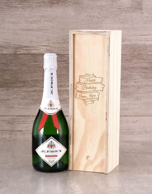 Personalised Birthday JC Le Roux Crate