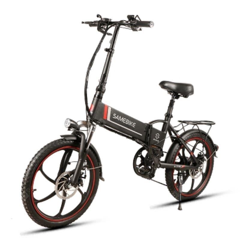 Buy Samebike 20lvxd30 350w Motor 48v 8ah Battery Foldable Electric Bicycle Lcd Display Electric Bicycle Foldable Electric Bike Folding Electric Bike Moped Bike