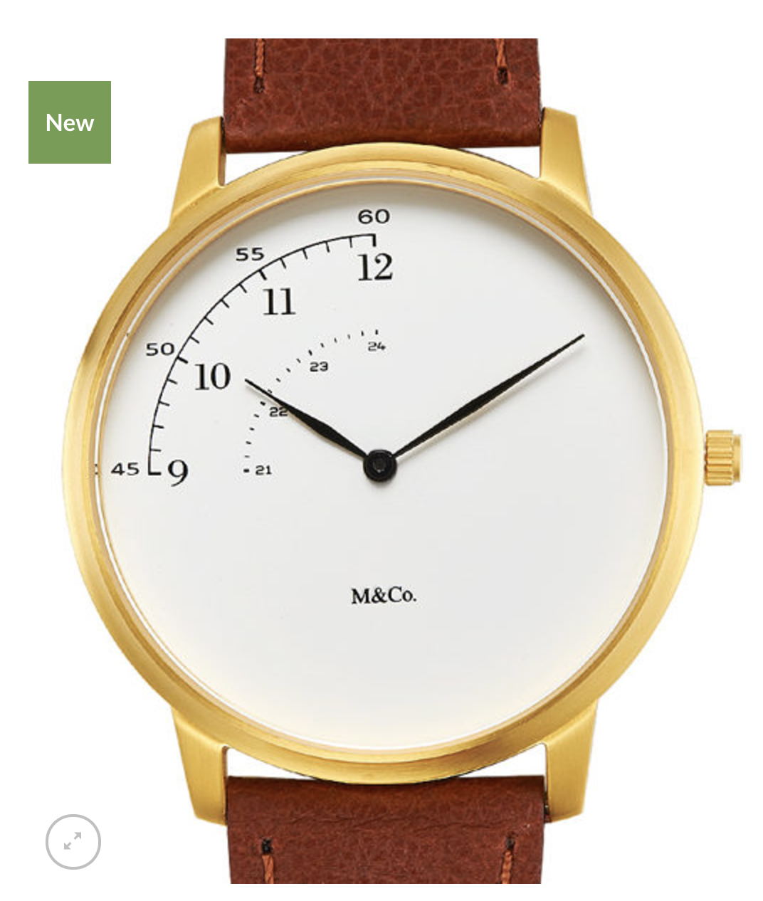 La montre qui ne montre pas tout // @ M&Co