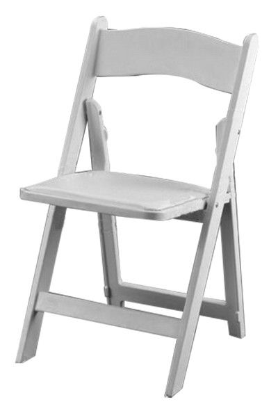 White Avant Garde Chairs Folding Chair Wood Folding Chair
