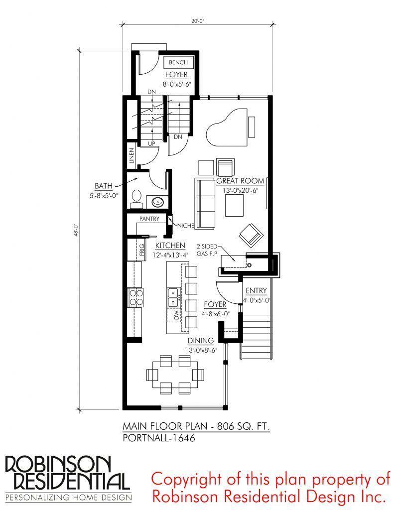 Contemporary Portnall 1646 Robinson Plans Contemporary Portnall 1646 Robinson Plans Contemporary Plans How To Plan Narrow Lot House Plans Floor Plans