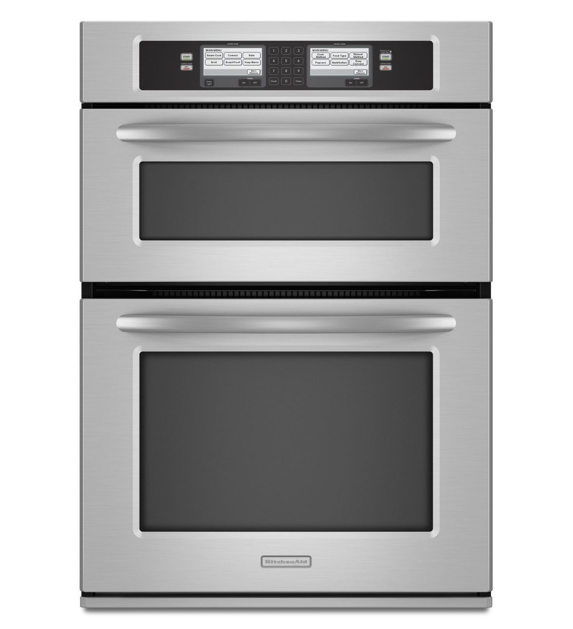 30 Inch Steam Assist Combination Microwave Wall Oven Architect Series Ii Kehu309sss Stainless Steel Wall Oven Combination Wall Oven Built In Microwave Oven