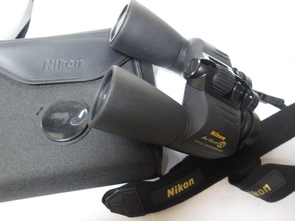 Nikon fernglas action ex mit tasche wasserdicht neuwertig