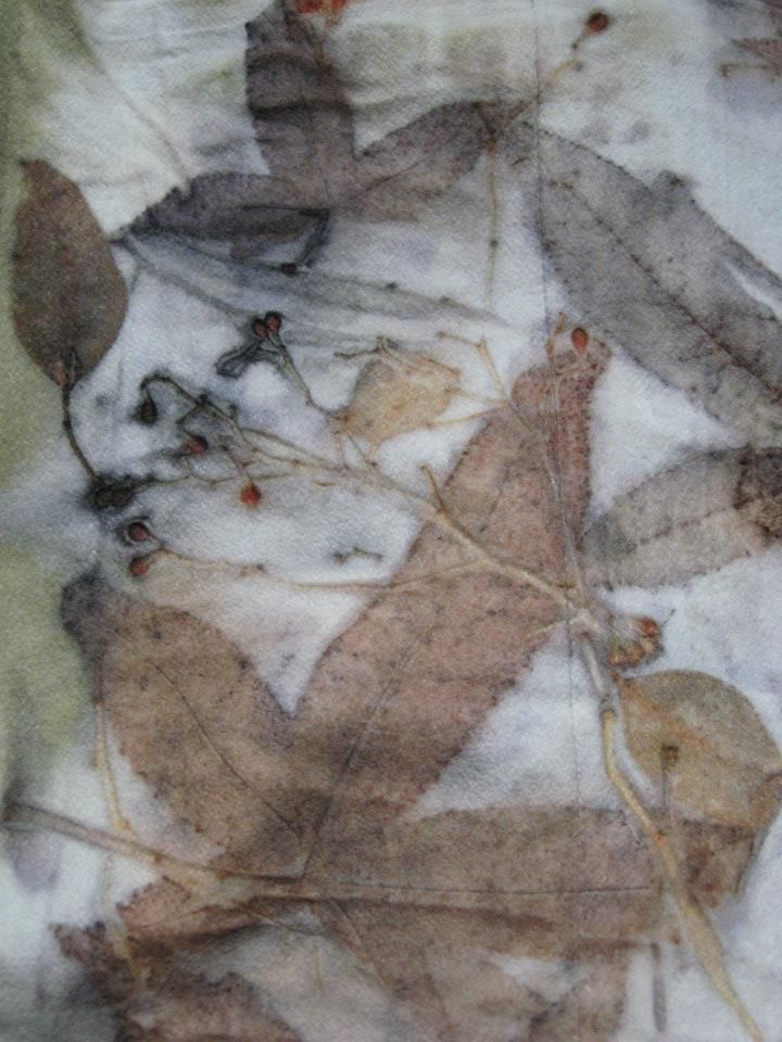 Fragment from coat (still available for sale ) by Nika Ivanoff ( My Felted Fantasy )