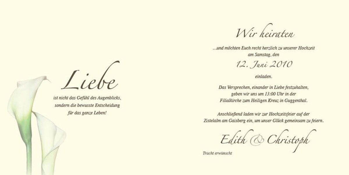 Hochzeit Einladungstext Beautiful Einladungskarten
