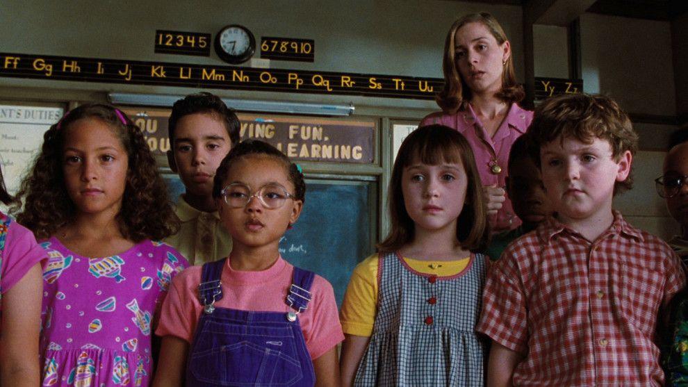 Matilda 1996 90s References Cena De Filme Filmes Und Livros