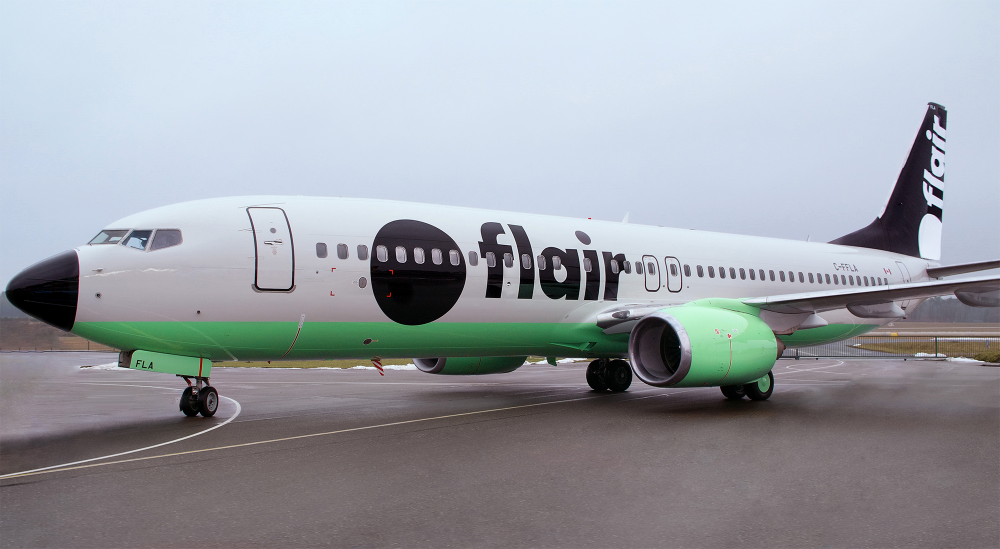 Brand New New Logo and Livery for Flair Airlines