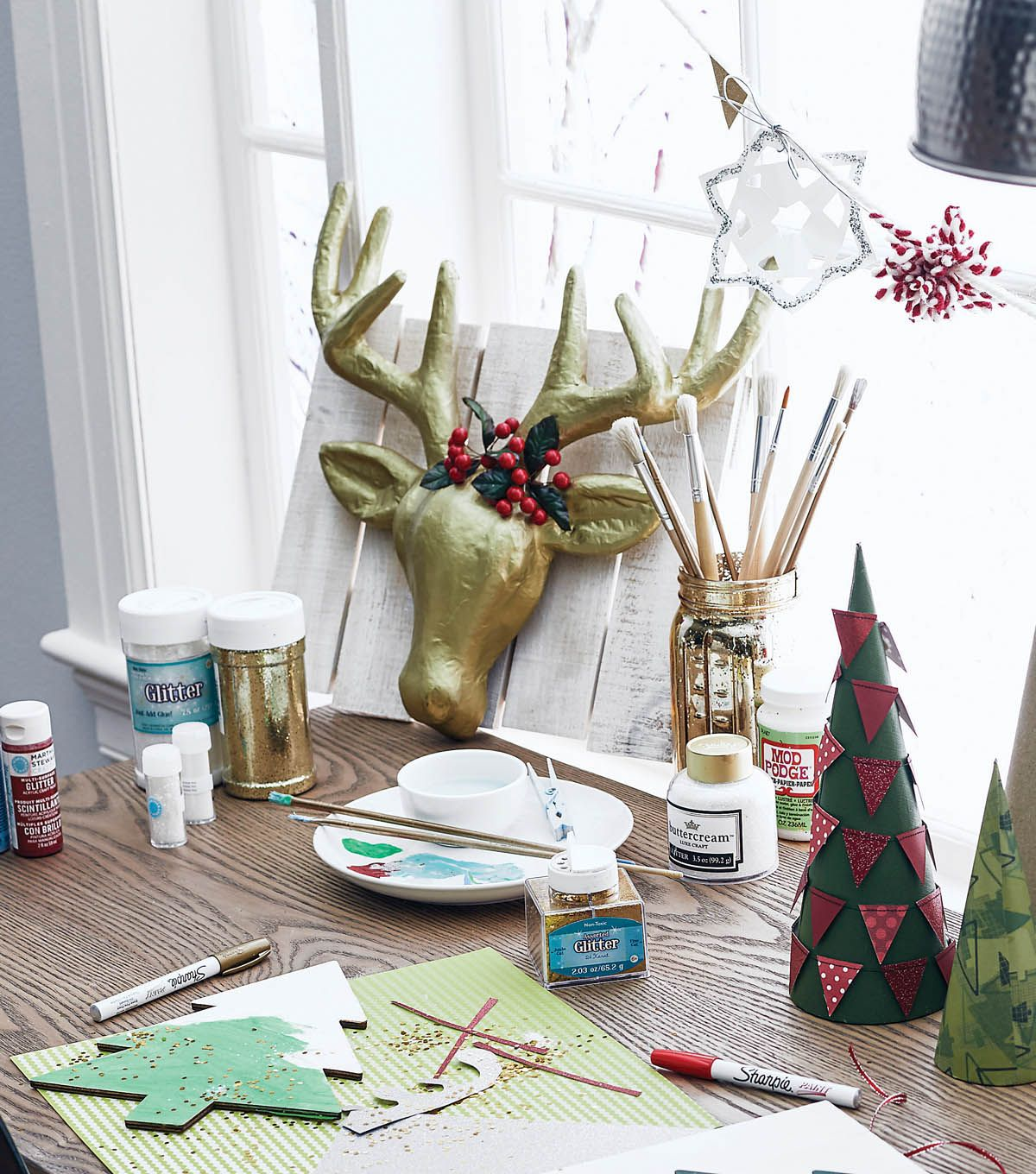 How to make a paper mache deer head this looks so cool and if you
