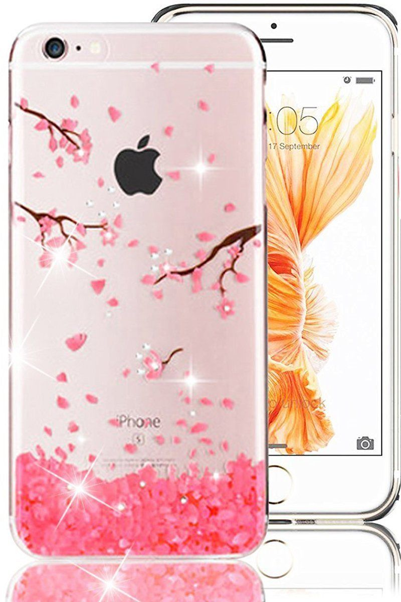 los angeles 12c7a b671a iPhone 6S Case,iPhone 6 Case, PHEZEN iPhone 6S TPU Case Luxury Bling ...
