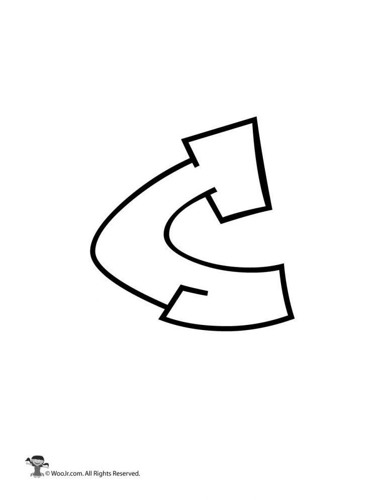 graffiti lowercase letter c bubble letters alphabet lower case letters letter c lowercase