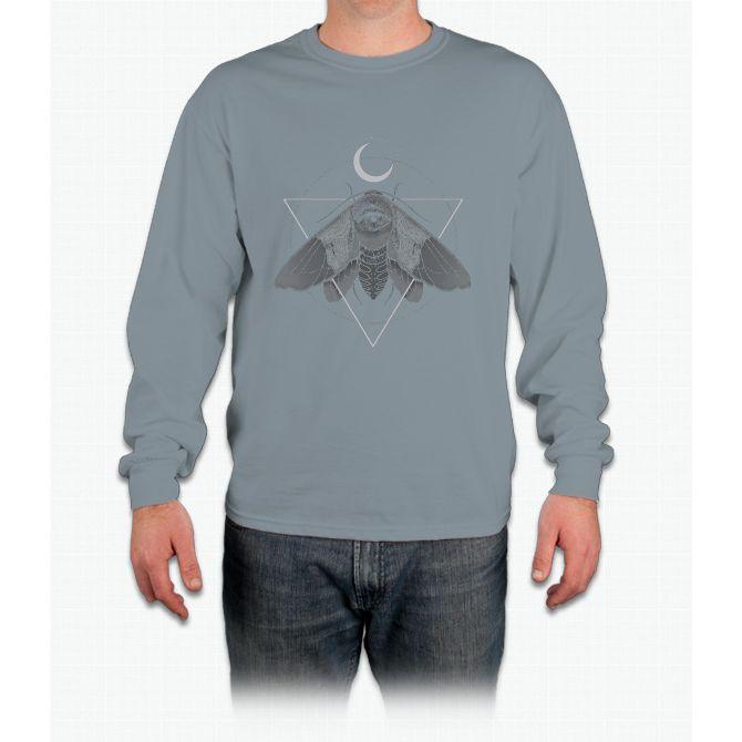 Occult Moth Long Sleeve T-Shirt