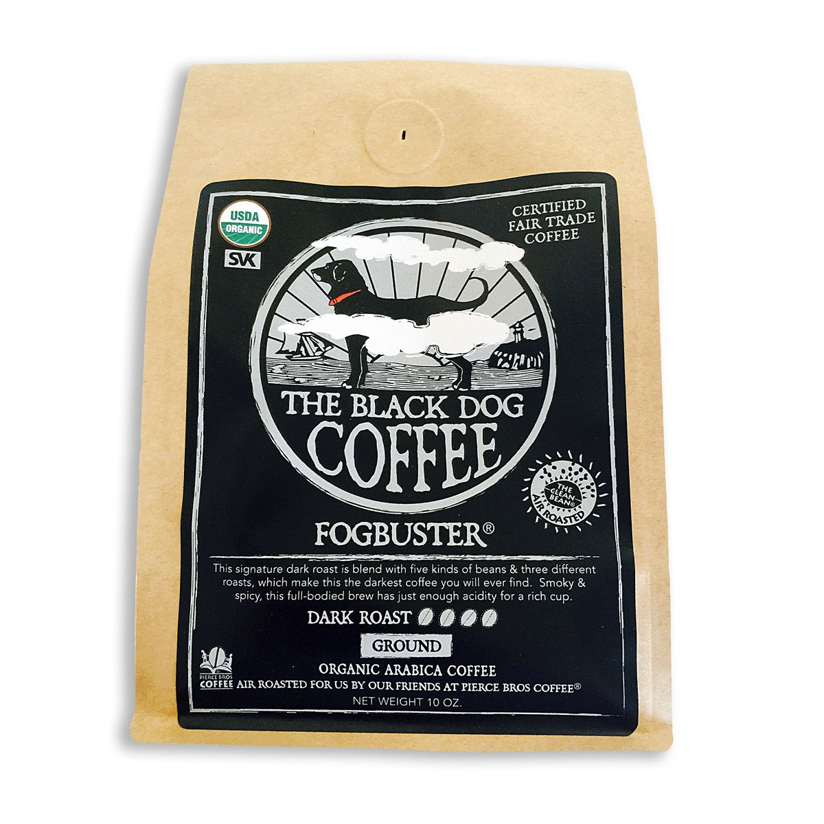 Fogbuster Blend Coffee Blended coffee, Black dog coffee