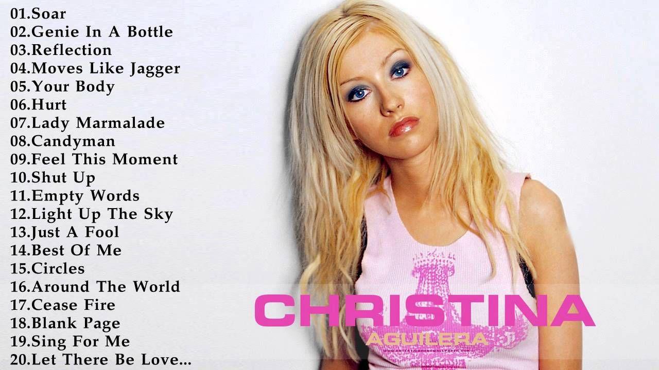 Christina aguilera greatest hits-5678