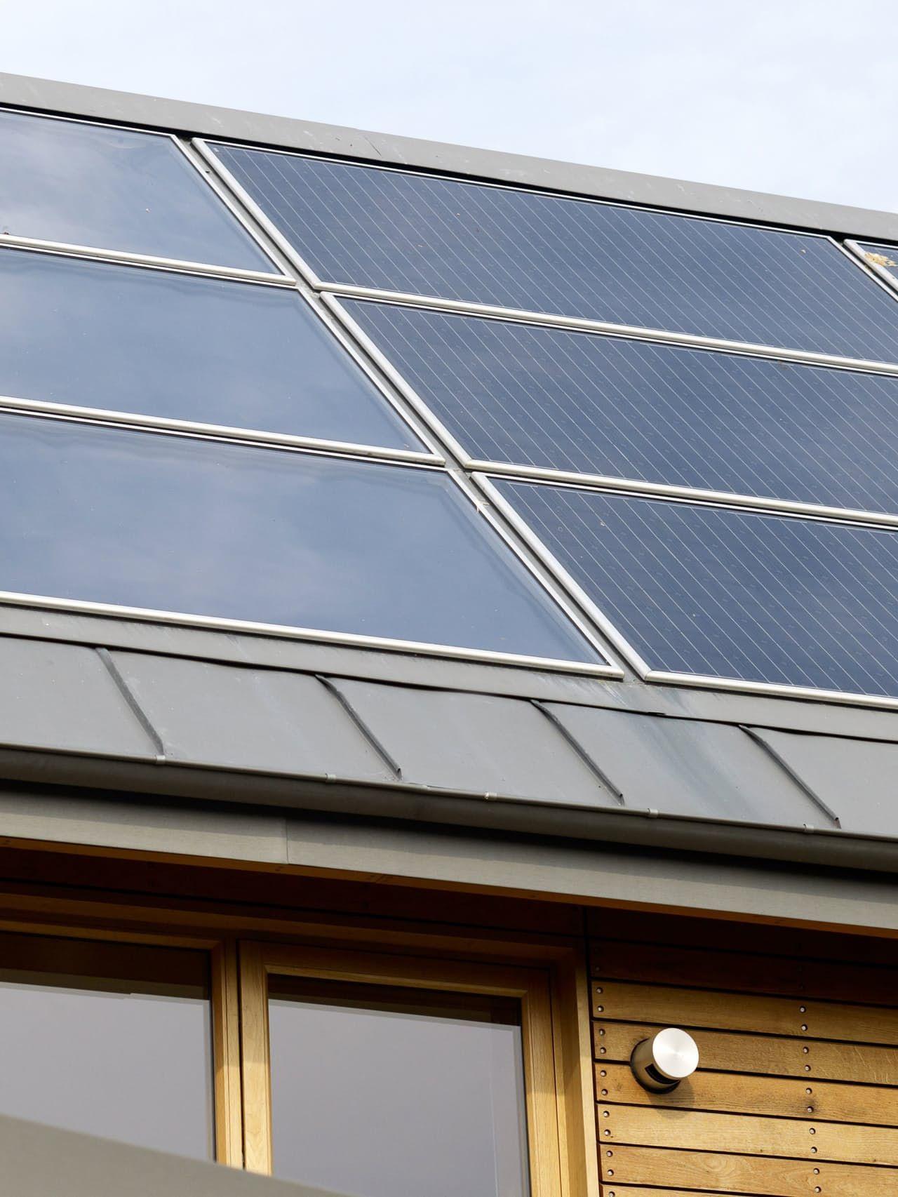 Mark S Zero Carbon English Eco House In 2020 Solar Eco House Solar Panels