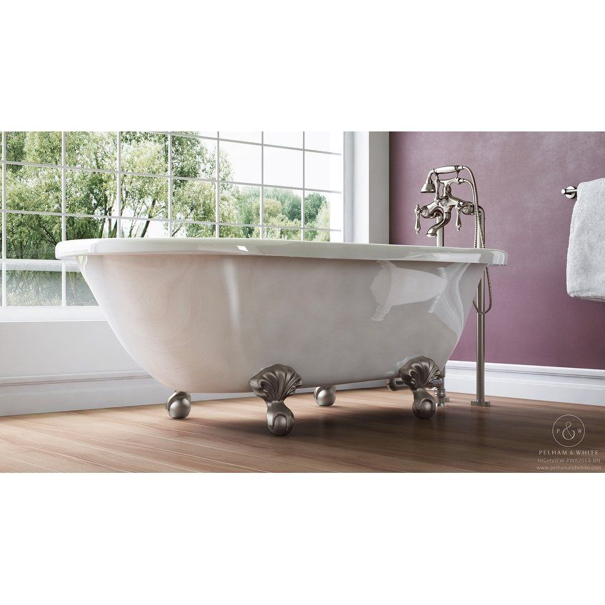 Image Result For Pelham White 54 Inch Small Vintage Clawfoot Tub