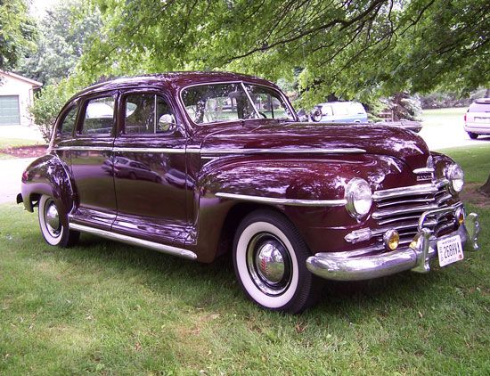Car Of The Week 1948 Plymouth Special Deluxe With Images