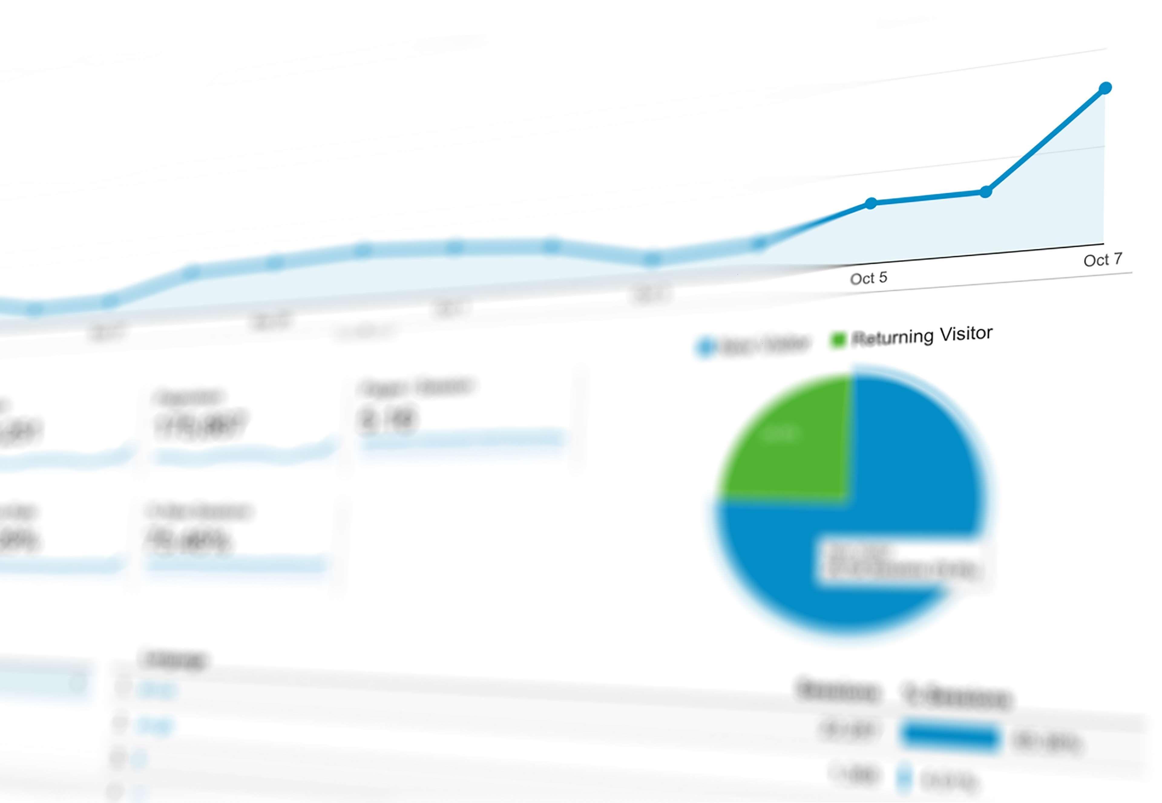 Analytics Chart Data Graph Marketing Presentation