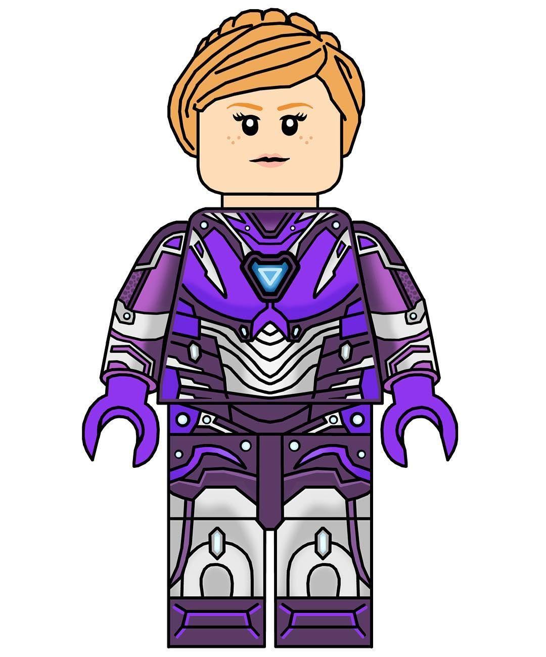 Custom Lego Rescue Armor Minifigure From Avengers 4 Hope You Guys Like It Lego Legoavengers4 Legoaven Lego Iron Man Lego Custom Minifigures Mini Figures