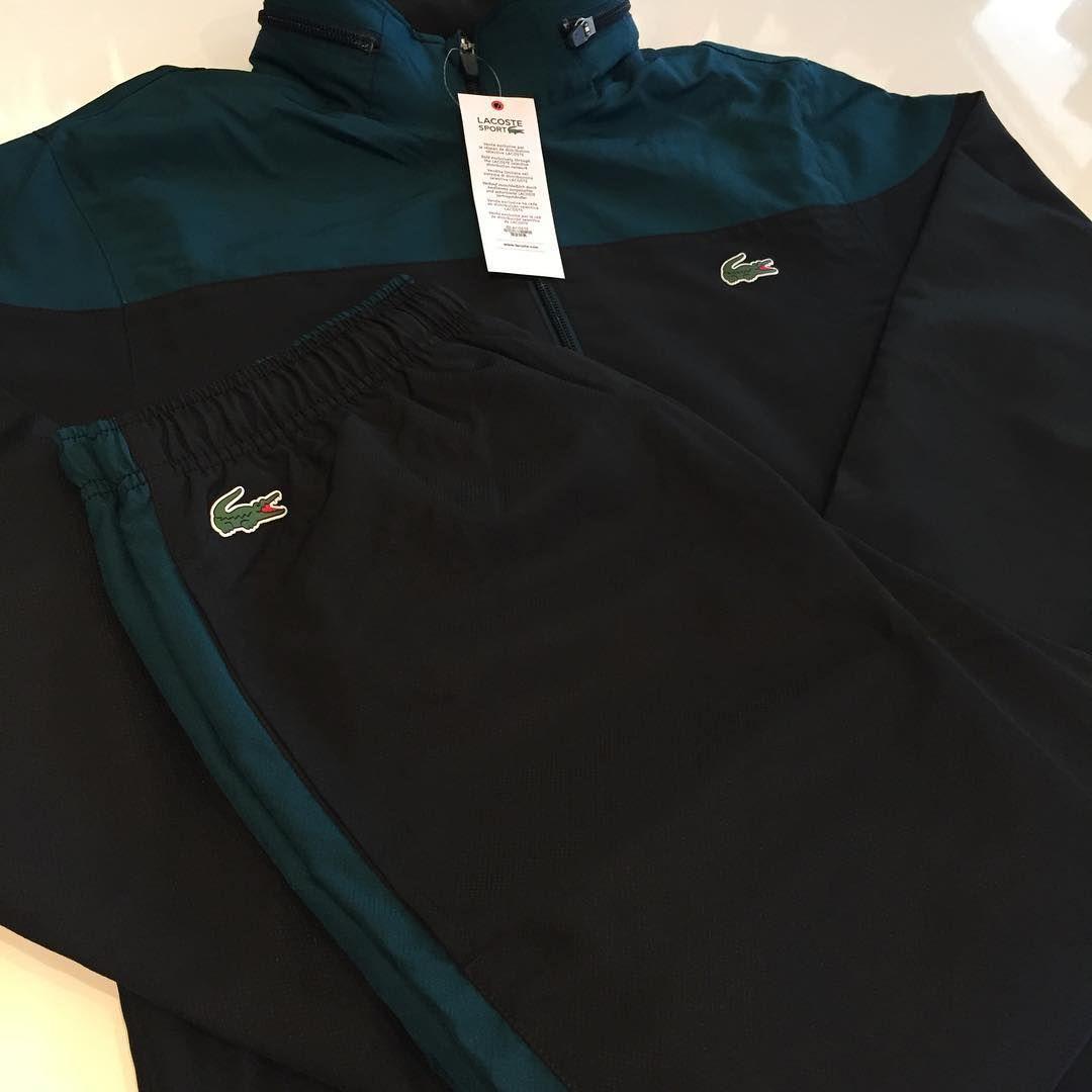 ae7357bf38 Survêtements Lacoste nouvelle collection en stock ! #platinium  #platiniumshop #boutiqueplatinium #montbeliard #lacoste »