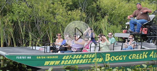 Boggy Creek Airboat Rides Airboat rides, Orlando travel