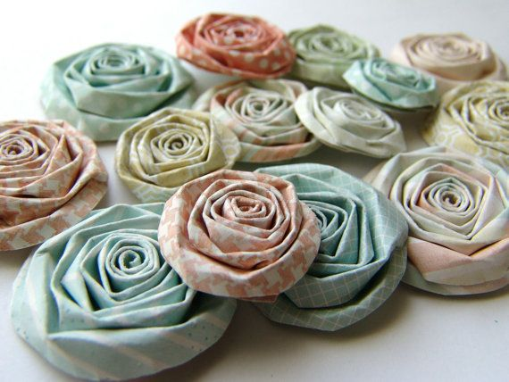 Spring paper flowers for Table and Food + Bar Displays