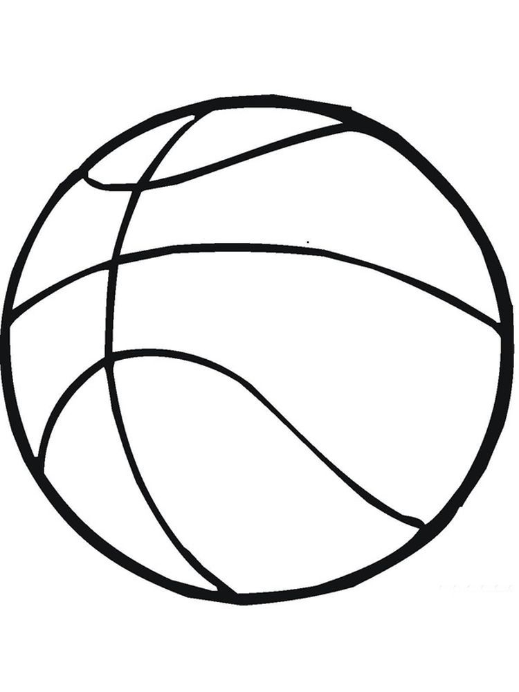 Basketball Coloring Page Preschool Below Is A Collection Of Great Basketball Coloring Page That You Can Download In 2020 Coloring Pages Cool Coloring Pages Preschool