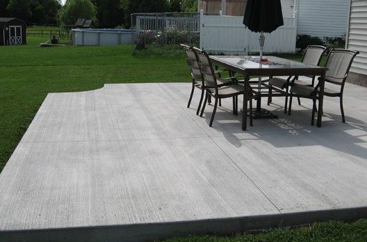 Broom Finish Concrete Is A Budget Friendly Option To Create A
