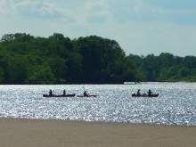 Sauk city canoe