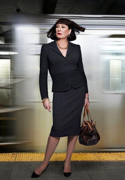 Anjelica Huston as Eileen Rand #Smash