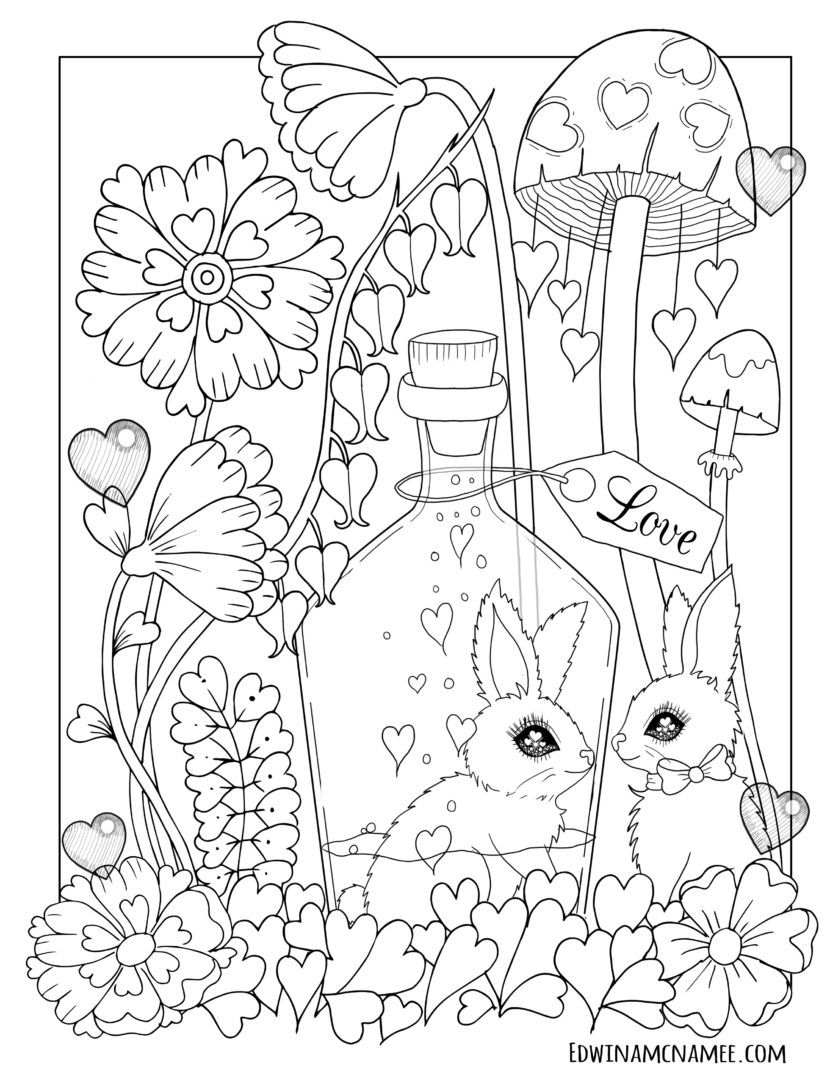 Easter coloring pages Edwina Mc namee Easter coloring