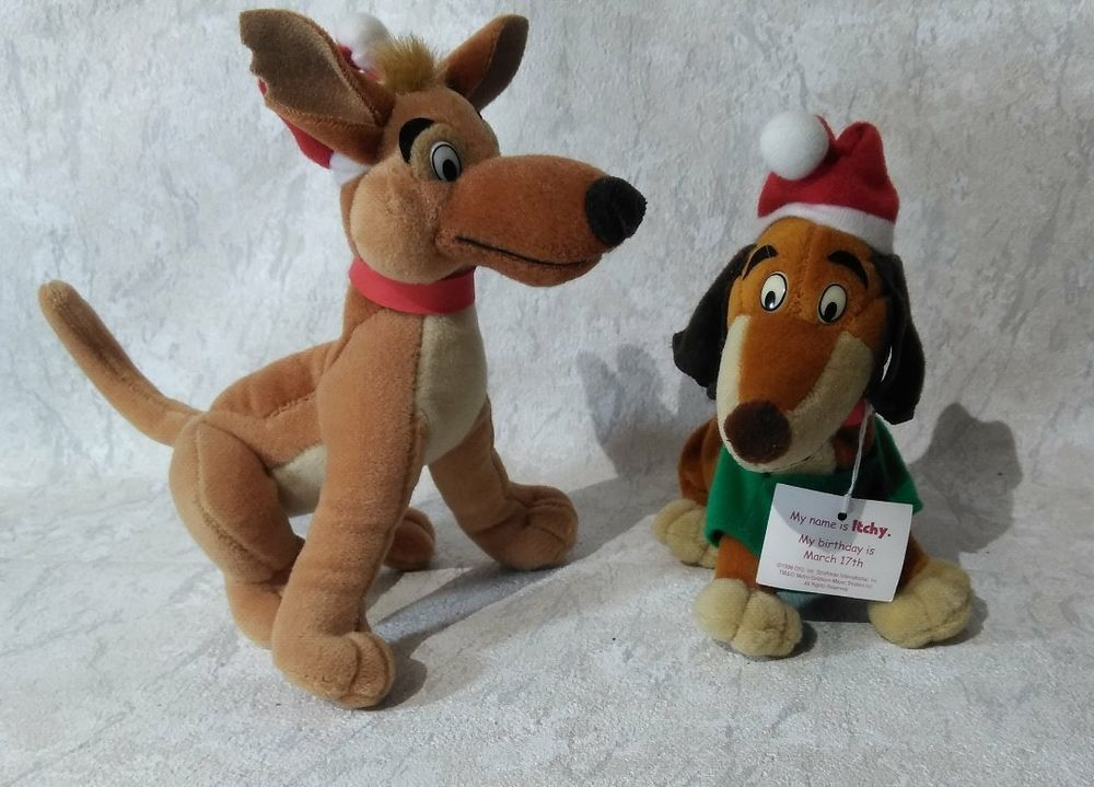 Denny S All Dogs Go To Heaven Toys Lot 2 Plush Charlie Itchy