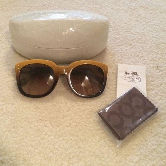 NWOT*Coach Sunglasses *PM Editor Share* Authentic. Never used. Coach Accessories Sunglasses