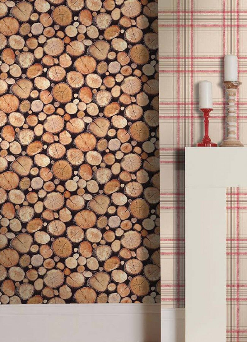 Vigo erica 39 a bedroom pinterest wallpaper designer - Wood effect wallpaper living room ...