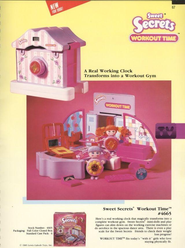 Sweet Secrets (GALOOB) 1985