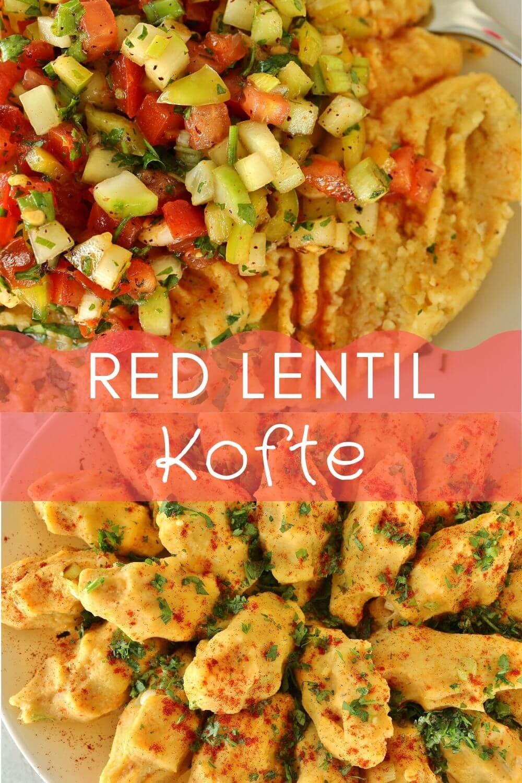 Red Lentil Kofte (Vospov Kofte)